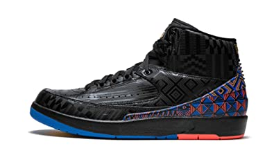 outlet store e6423 bf473 Image Unavailable. Image not available for. Color  Nike Air Jordan 2 II  Black History ...