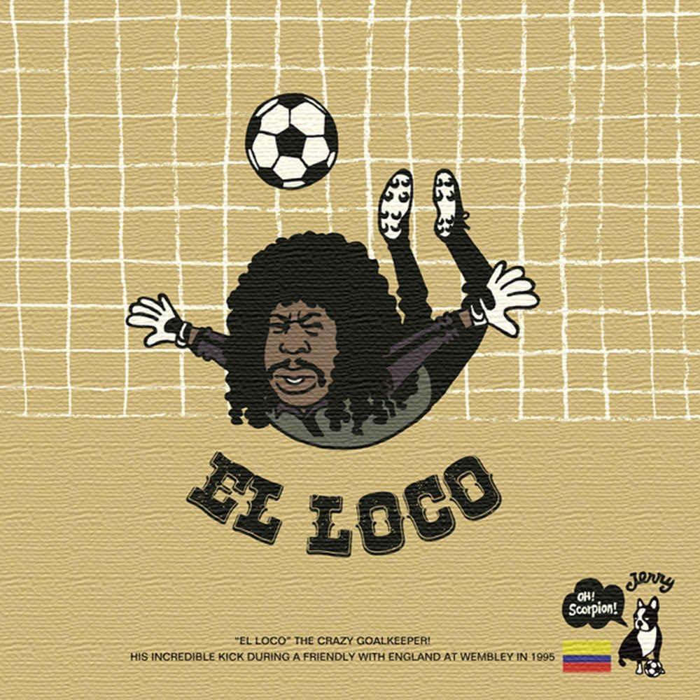 Amazon Co Jp アートデリ ポスター パネル Soccer Junky 30cm 30cm
