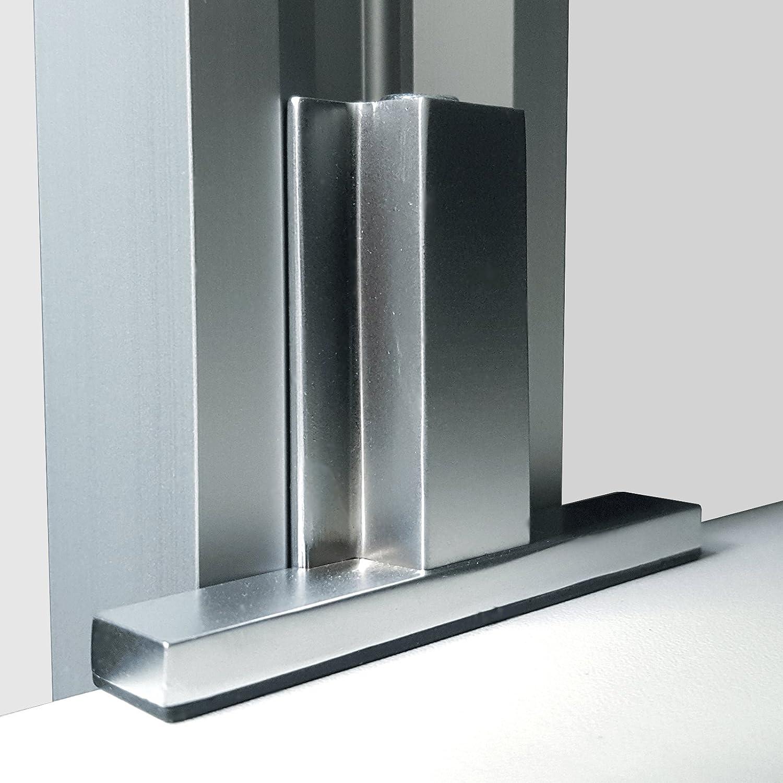inova Erweiterungs-Set f/ür Regalsystem zur Deckenverspannung mit 8 Regalbodenhalter