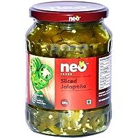 Neo Foods Sliced Jalapeno, 680g