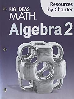 BIG IDEAS MATH Algebra 2 Texas: Student Edition 2015