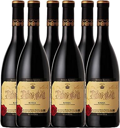 Vino Monte Real Reserva 75cl Pack-6: Amazon.es: Alimentación y bebidas