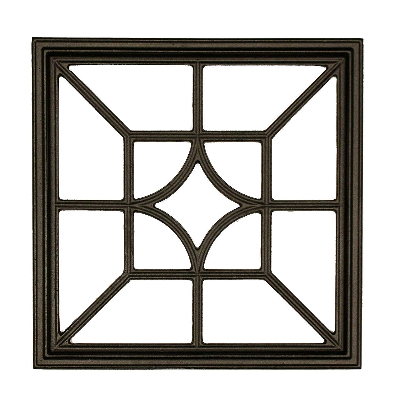 Nuvo Iron Square Decorative Insert For Fencing, Gates, Home, Garden, ACW54      by NUVO IRON