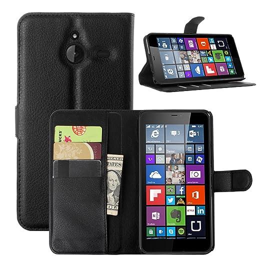 5 opinioni per Custodia Cover per Nokia Microsoft Lumia 640 XL Dual-SIM- Ycloud Portafoglio