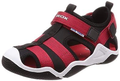6c11b0053d Amazon.com | Geox Boys' Jr Wader a Closed Toe Sandals | Sandals
