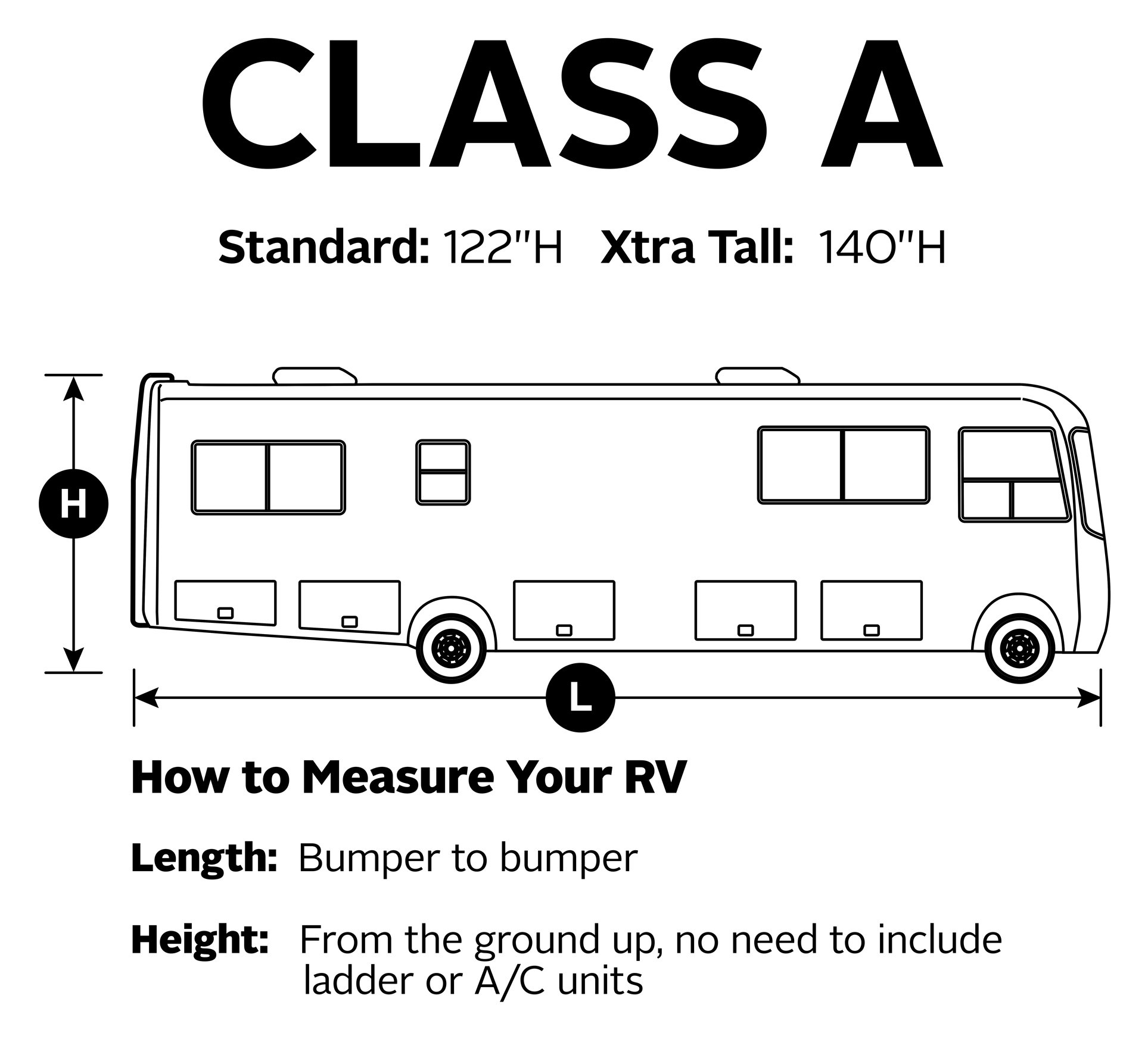 Classic Accessories OverDrive PermaPro Heavy Duty Cover for 24' to 28' Class A RVs by Classic Accessories (Image #3)