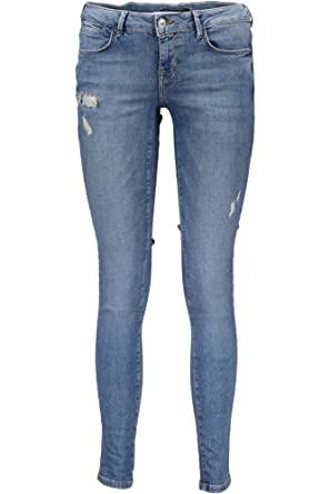 Guess Jeans jegging skinny - 29, azul: Amazon.es: Ropa y ...