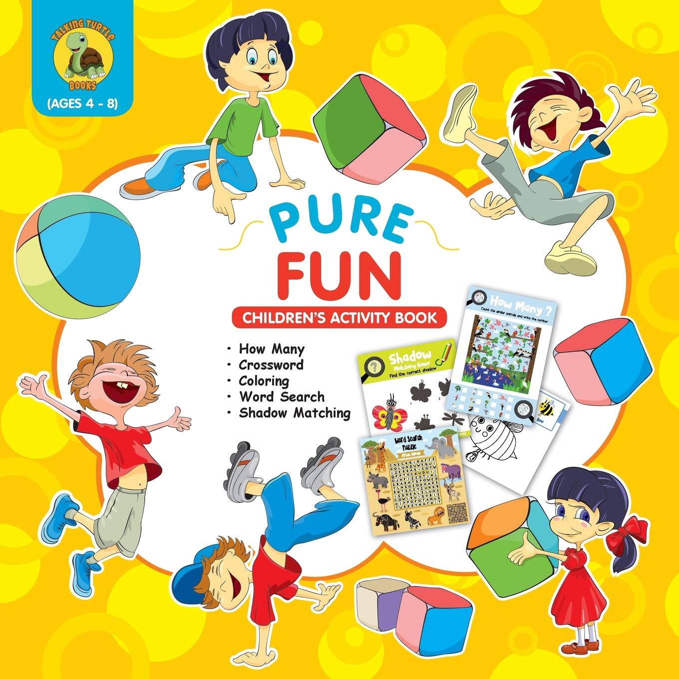 Pure Fun Children S Activity Book Assortment Of Fun Kids Activities