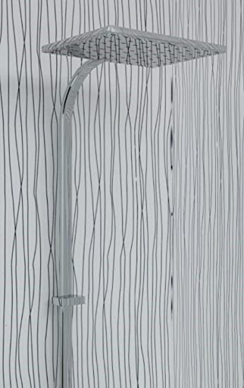 10 Mm Glanzend Weiss Mit Silber String Wand Platten Und Deckenpaneele Zunge Und Gerillt Ideal Fur Ihr Bad Dusche Wande Uber Fliesen Und Auf Ihrem Decke 100 Wasserdicht Amazon De Kuche Haushalt