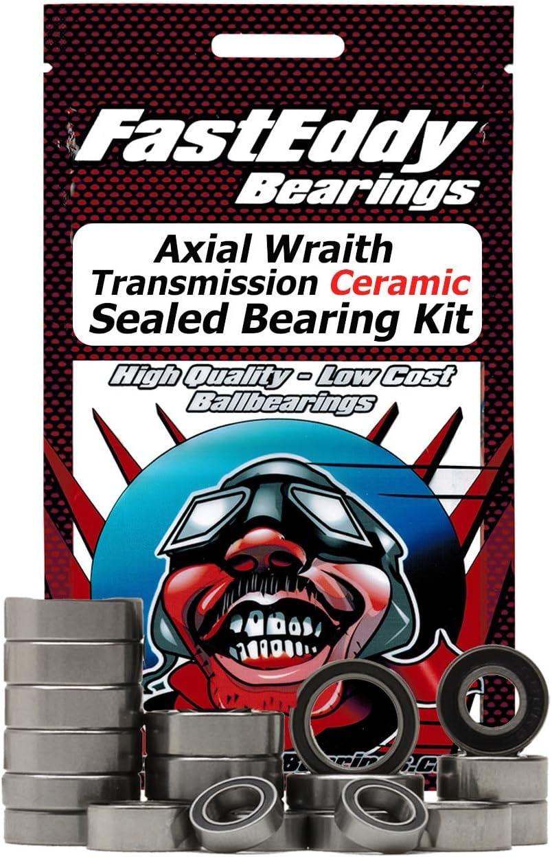 Axial Wraith Transmission Ceramic Sealed Bearing Kit