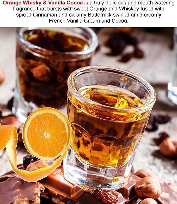 Whisky naranja y Vainilla Cocoa perfume cuerpo spray extra fuerte 50 ml/1,7 oz CRUELTY FREE