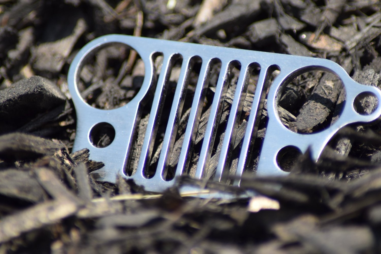Amazon.com: Boesch Built Stainless Steel Jeep Grill Keychain: Automotive