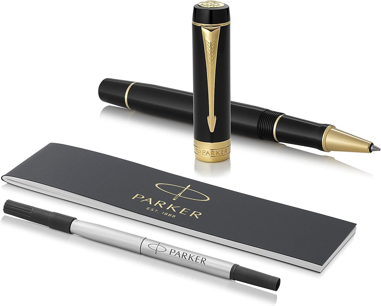 Classic Made In Uk New 5 Parker Ballpoint Pen Refills Black Medium Pt Duofold