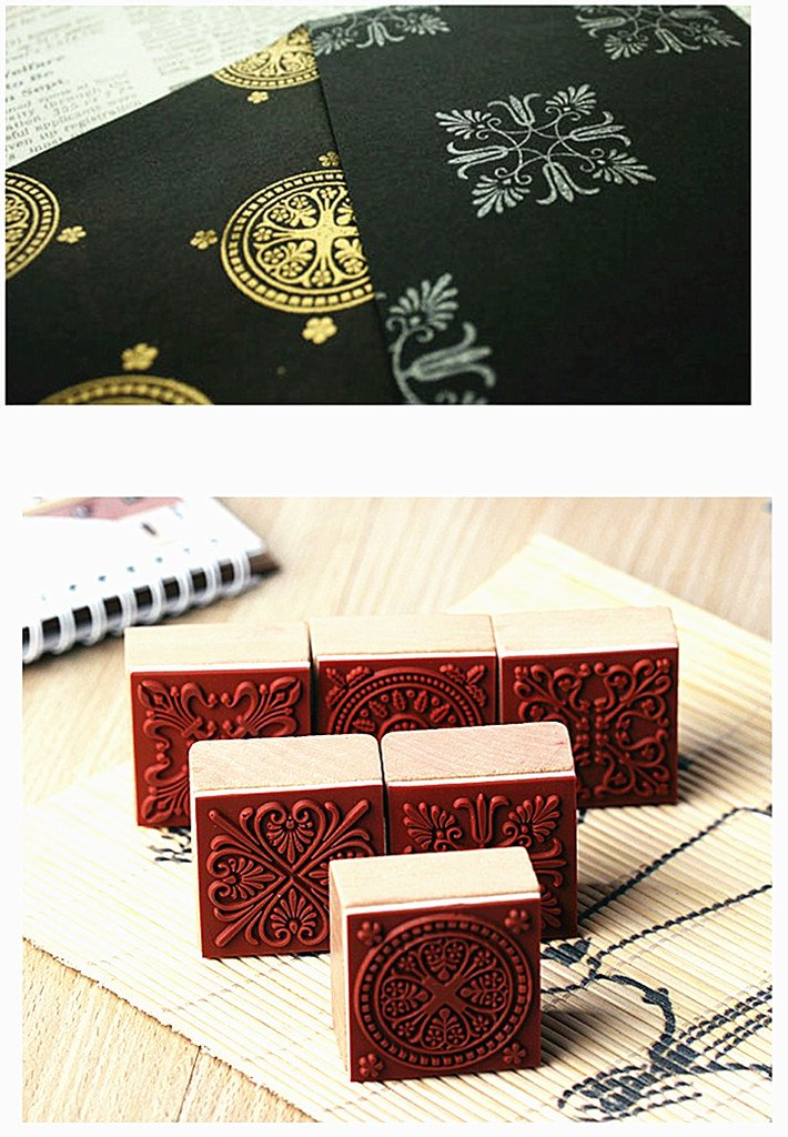 70pcs Alphabet Stamps Set,Vintage Wooden Rubber Letter Number and Symbol Diary Stamp Kit for Children DIY Scrapbooking Planner Card Making