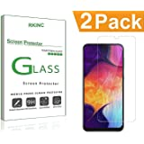Bundle of 2, RKINC for Samsung Galaxy M20 Screen Protector, Crystal Clear Tempered Glass Screen Protector [9H Hardness][2.5D Edge][0.33mm Thickness][Scratch Resist] for Samsung Galaxy M20