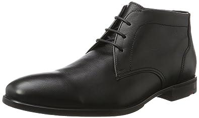 LLOYD 27-753-0, Bottines Classiques Homme - Noir - Noir (Schwarz 0), 42 EU