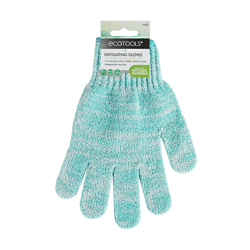 EcoTools Bath and Shower Gloves (Color may Vary) 7423