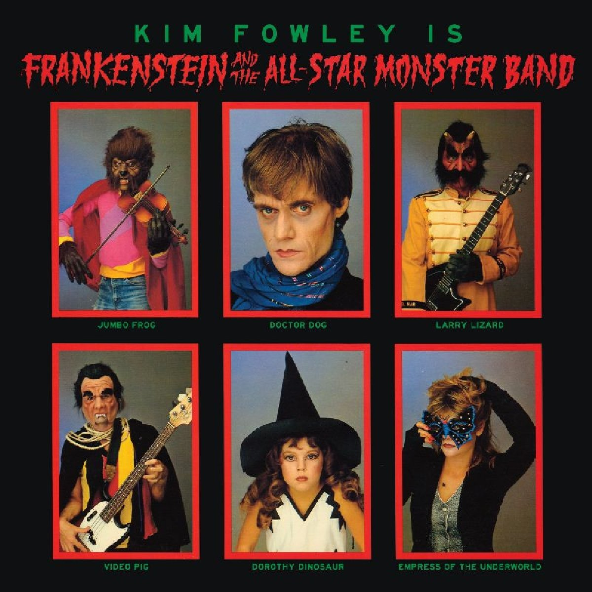 Kim Fowley Presents - Frankenstein And The All-Star Monster Band - Amazon.com Music