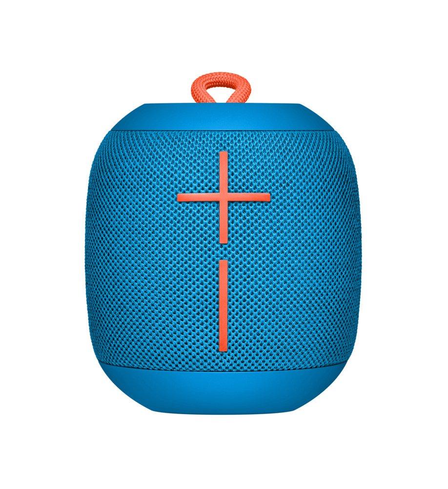 Ultimate Ears WONDERBOOM -  Altavoz Bluetooth impermeable con conexión, Azul