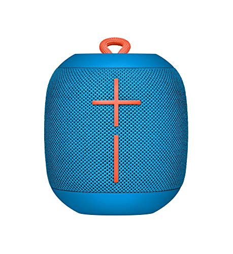 Ultimate Ears 984-000852 WONDERBOOM Bluetooth Speaker Waterproof with Double-Up Connection - Subzero Blue