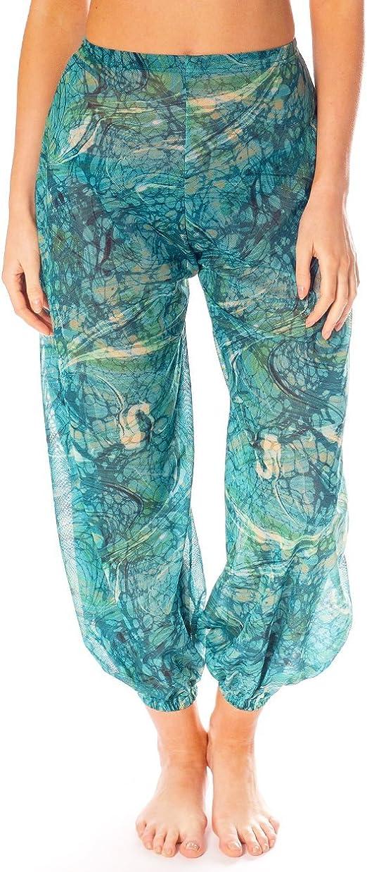 Kiniki Santorini Tan Through Harem Trousers Accessory Beachwear