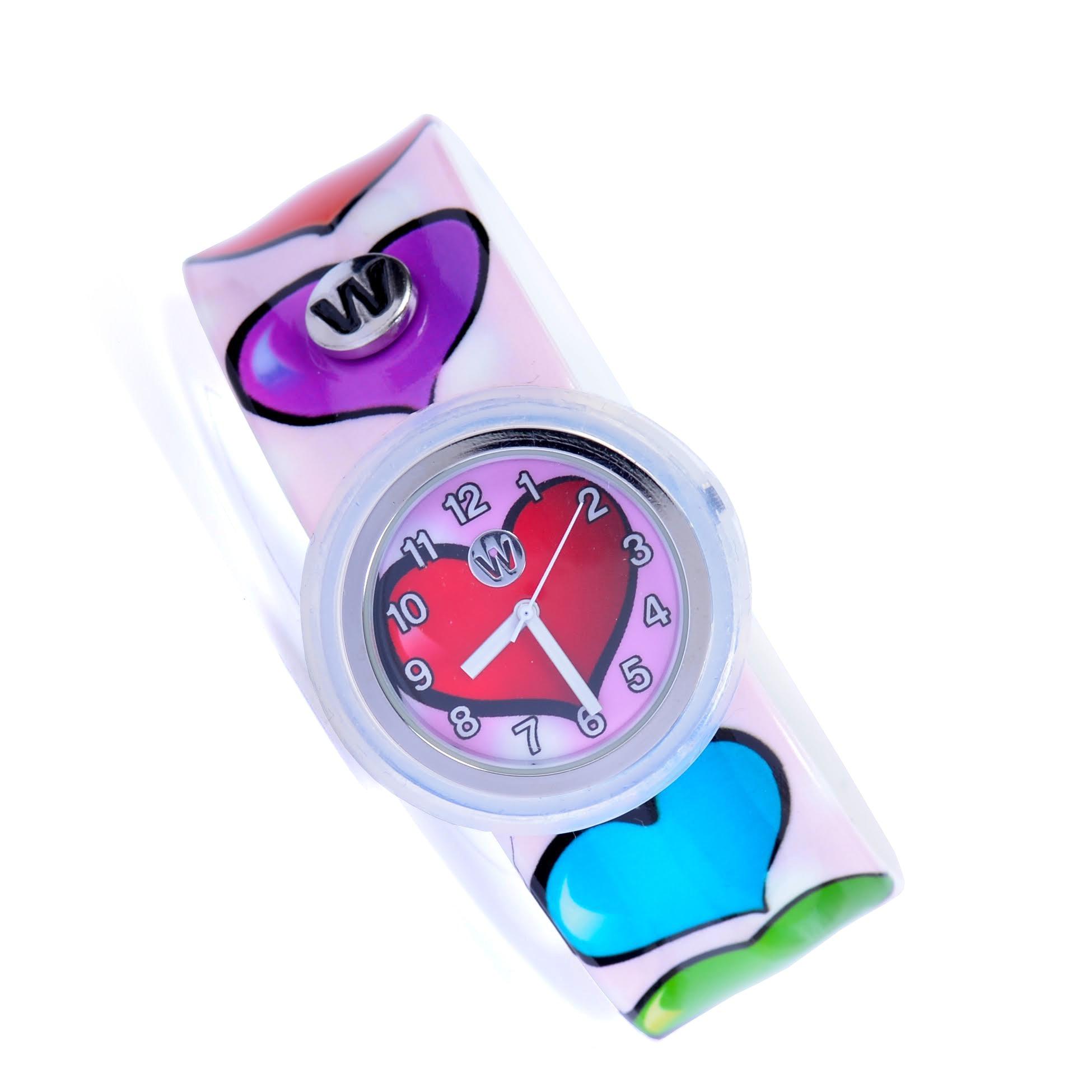 Watchitude Plunge Proof Slap Watch - Sweethearts - Kids Watch for Boys & Girls