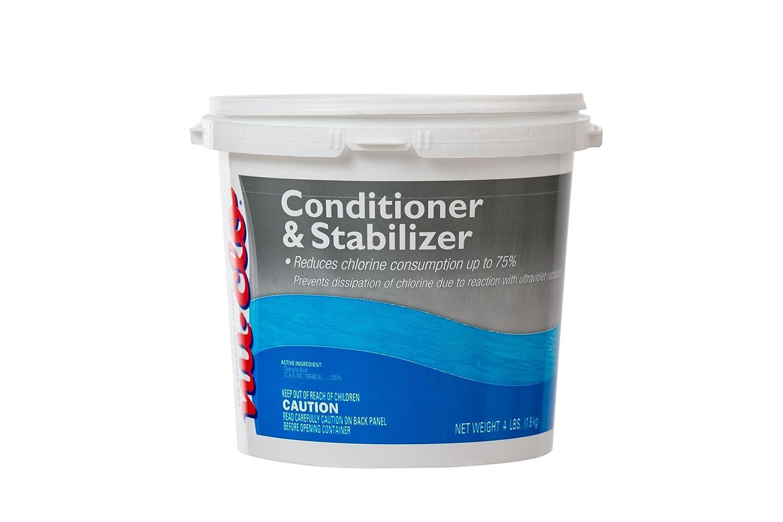 4 Lb Conditioner Amp Chlorine Stabilizer Swimming Pools