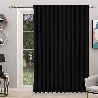 https www ubuy co id en product 76vthrnk floweroom room divider curtain 8 3ft wide x 7ft long black blackout curtains for bedroom partition l