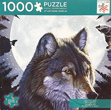 Andrews + Blaine Spirit of the Wolf Puzzle (1000 Piece)