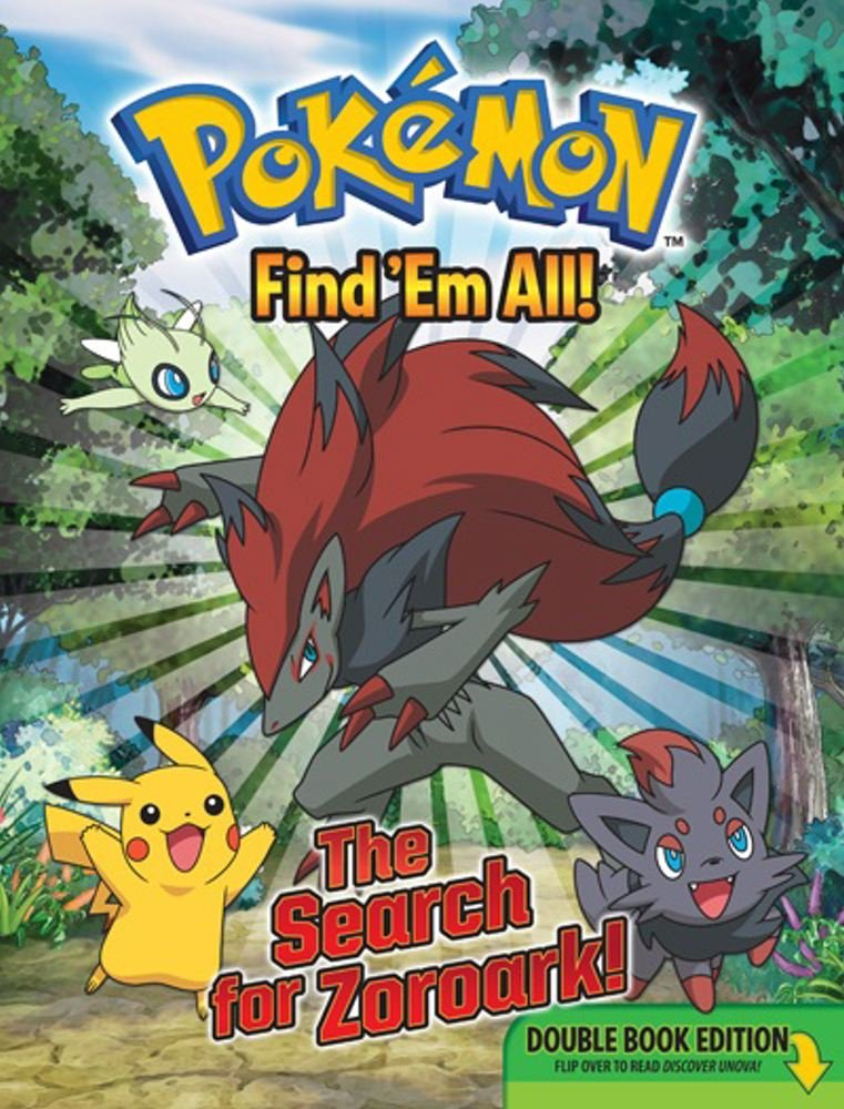 Pokémon Find 'Em All: Welcome to Unova! (Pokemon Pikachu Press)