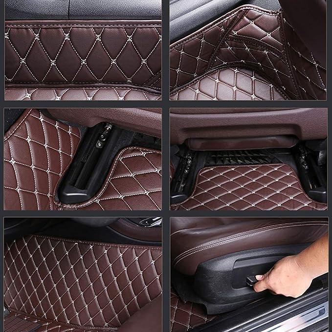 8x Speed Auto Fussmatten For Bmw 5 Series F10 F11 F07 2010 2013 Auto Schutzdecke Volle Abdeckung Autoteppiche Hochwertiges Pu Leder Wasserdichte Black Auto