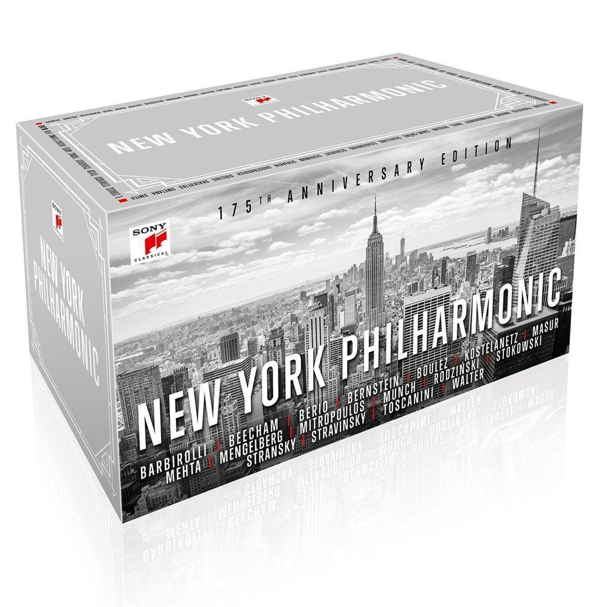 New York Philharmonic 175th Anniversary by Sony Classical