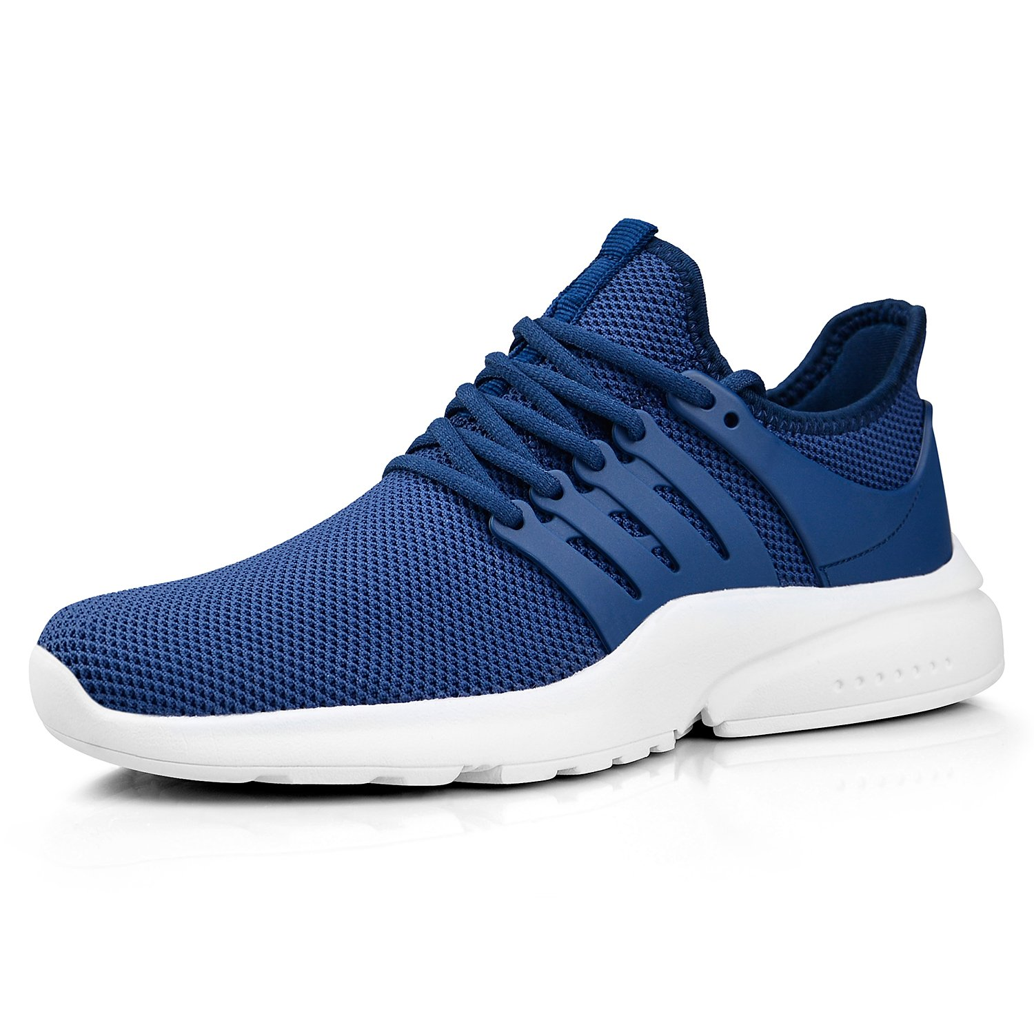 ZOCAVIA Women's Running Shoes Ultra Lightweight Breathable Mesh Sport Sneaker Casual Athletic Shoes B07D4H9CL1 10 B(M) US|Blue/White