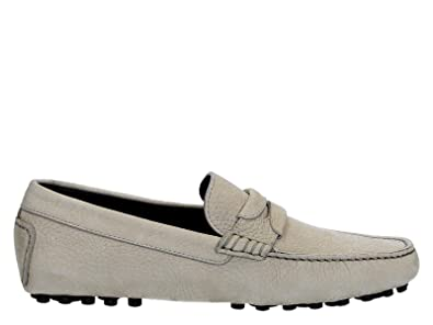 Men's A30048AC33780506 Grey Suede Loafers