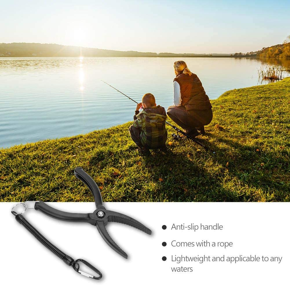 Liyeehao Accesorios de Pesca de Mano Grip Fishing Tool Alicates de Pesca Kayak Pesca para Agua Salada Pesca en Agua Dulce Grip Fishing Gear