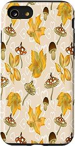 iPhone SE (2020) / 7 / 8 Fox Decorations Decor Accessories Cute Fall Leaves Case