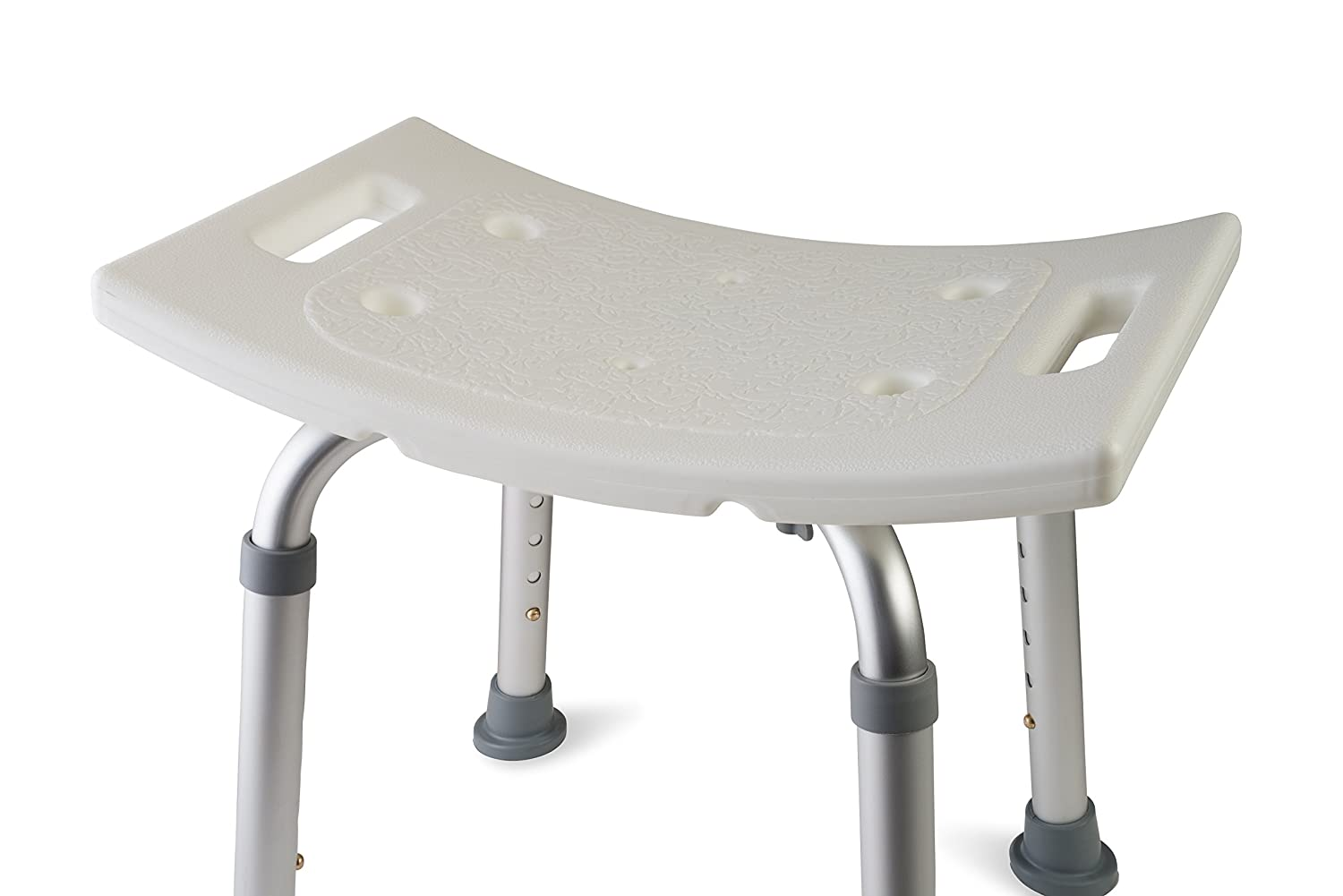 Amazon.com: Dr Kayu0027s Adjustable Height Bath And Shower Seat Top Rated Shower  Bench: Health U0026 Personal Care