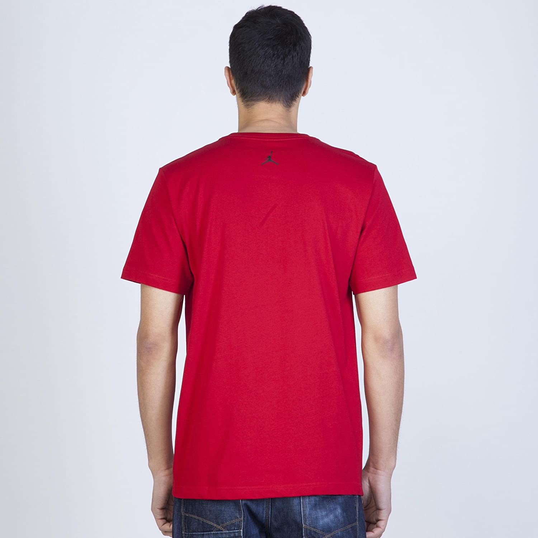 2cdd2ddeb2 Nike Jordan Jumpman Air Tee Men's T-Shirt, mens, 576794-695, multicoloured,  Large: Amazon.co.uk: Sports & Outdoors