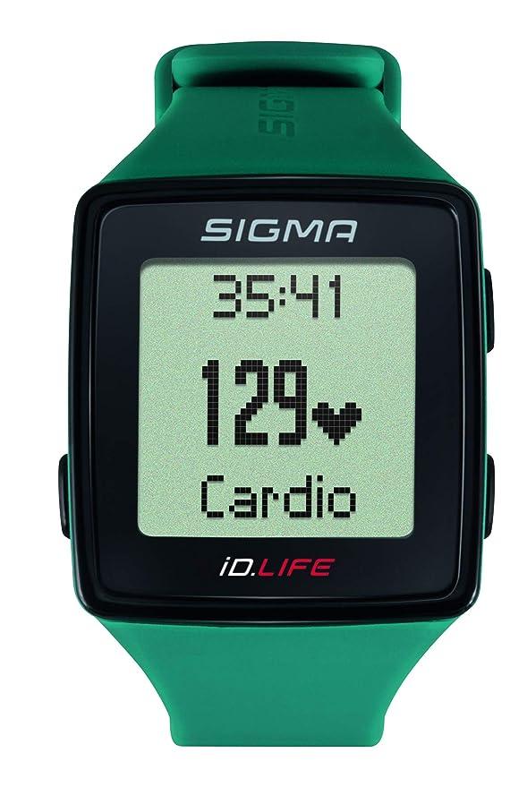 Sigma Sport ID.Life Reloj Pulsómetro Óptico ID Life Pine Green, Adultos Unisex, Verde Pino, 0: Amazon.es: Deportes y aire libre