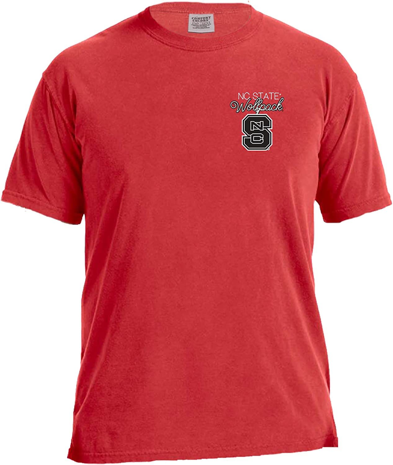 Image One NCAA Laces /& Bows Short Sleeve Comfort T-Shirt
