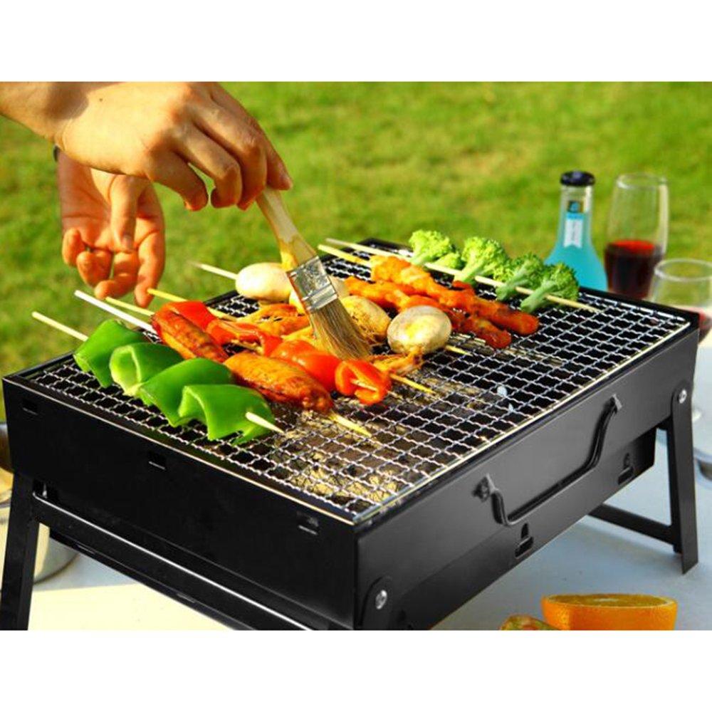 ZZ BBQ Portable Pliante Barbecuess à CharbonSmoker aini UMVLqpGzS
