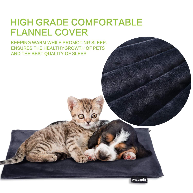 Pecute Coussin Chauffant pour Animal Domestique Sécurit Imperméable / anti-feu /anti- morsure / anti-choc électrique /anti- brûlures à haute température - Certification CE