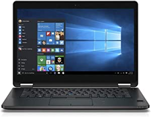 "Dell Latitude E7470 14"" QHD (2560x1440) Touchscreen Business Ultrabook Intel Core i7-6600U, 16GB DDR4 RAM 512GB m.2SATA SSD Windows 10 Pro"