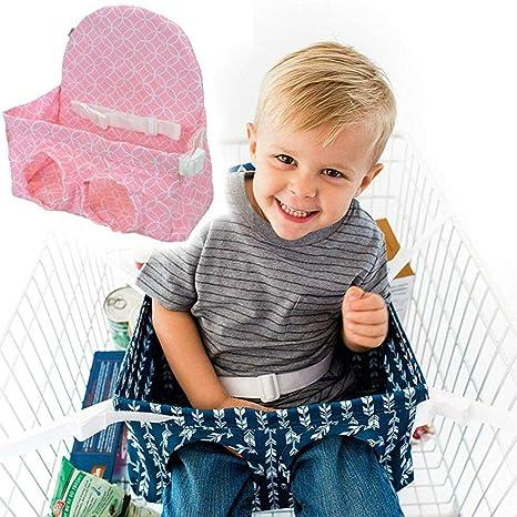 Carro de la compra para el bebé Asiento de la silla alta Protector ...