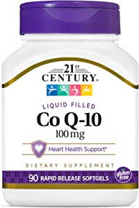 21st Century Co Q10 100 mg Softgels, 90 Count