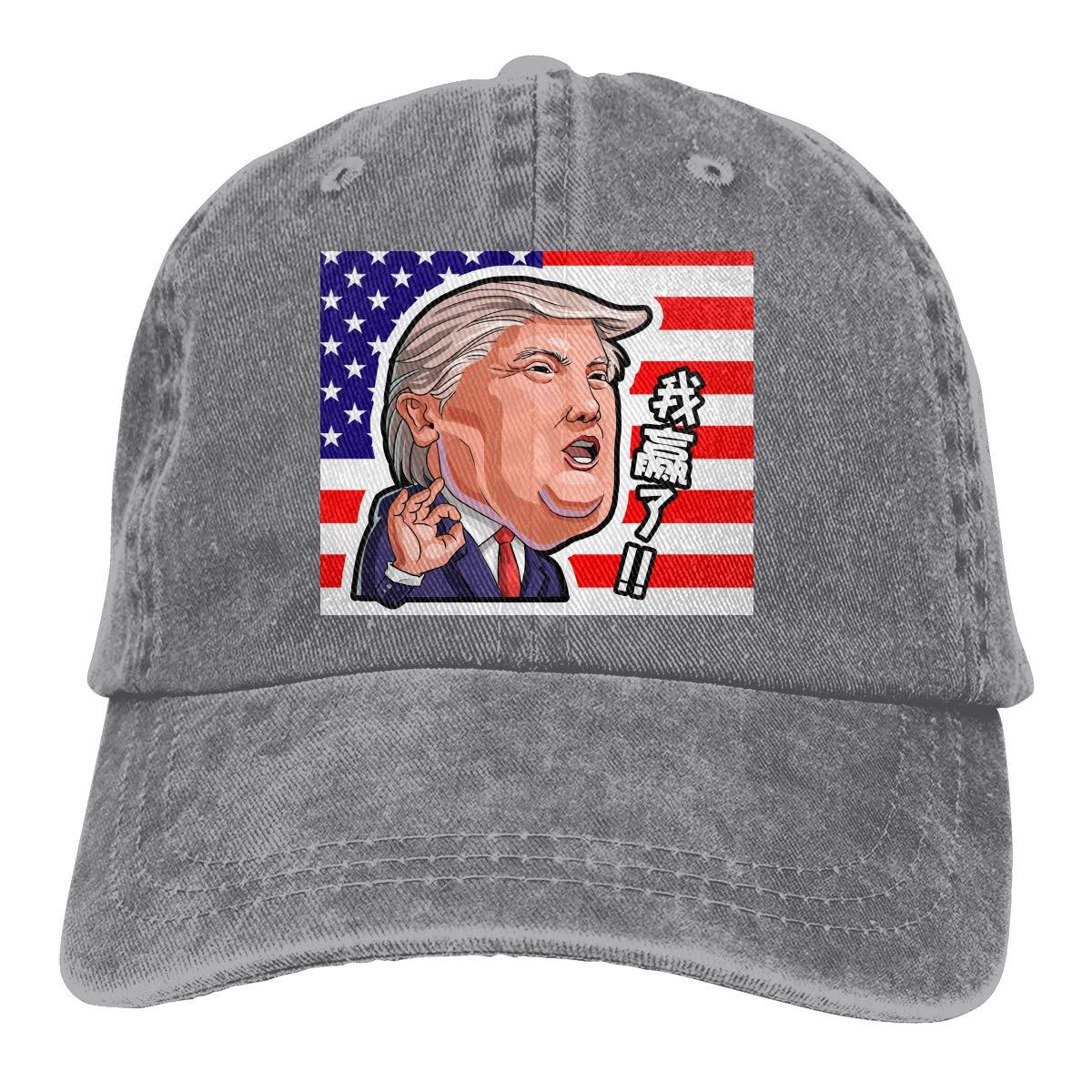 Amazon.com: Baseball Cap Gorras para Hombres Dad Cap Polo Hat Gorras De Mujer Trump 2020 Hat Casquette Black: Clothing