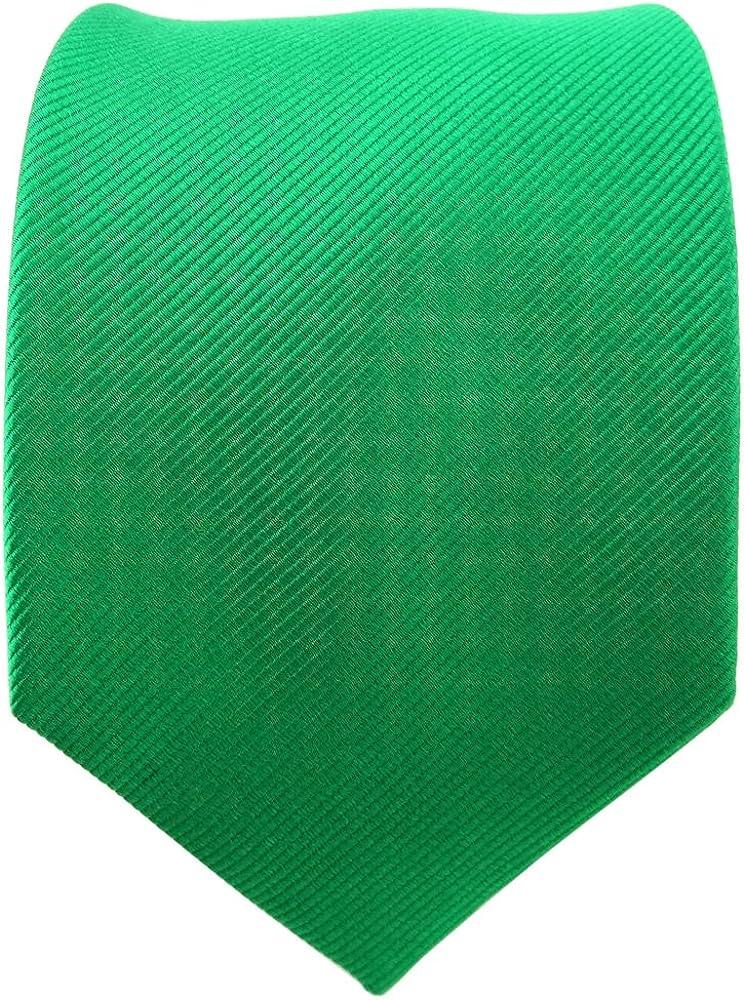 TigerTie diseñador corbata de seda - verde verde esmeralda verde ...