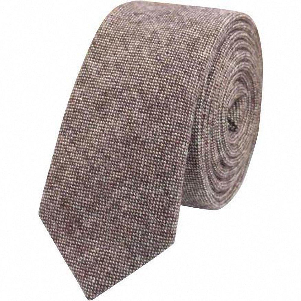 Corbata marron