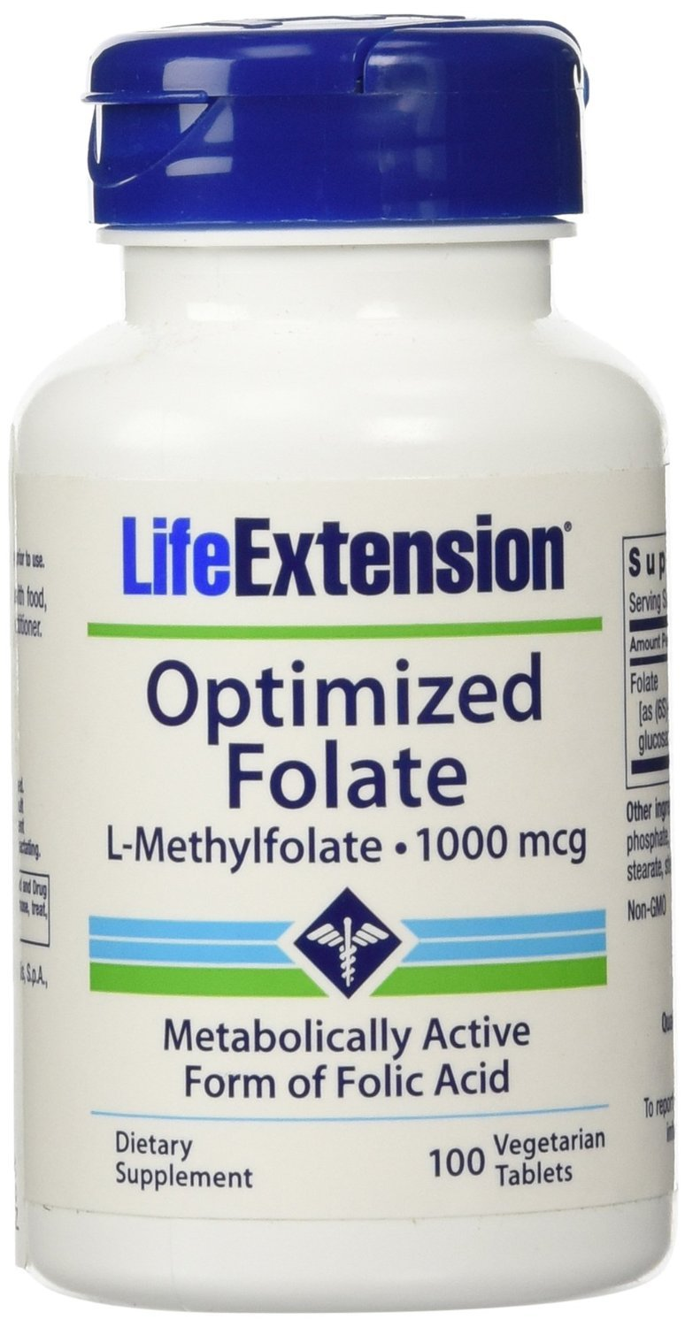Optimized Folate 1000mcg 100 X 3