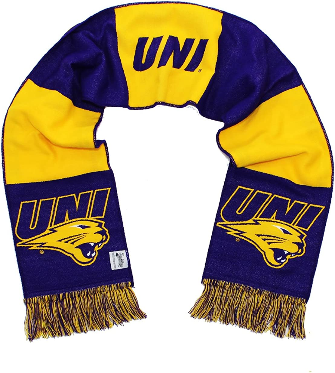 Tradition Scarves Northern Iowa Scarf - UNI University of Northern Iowa Panthers Classic Woven